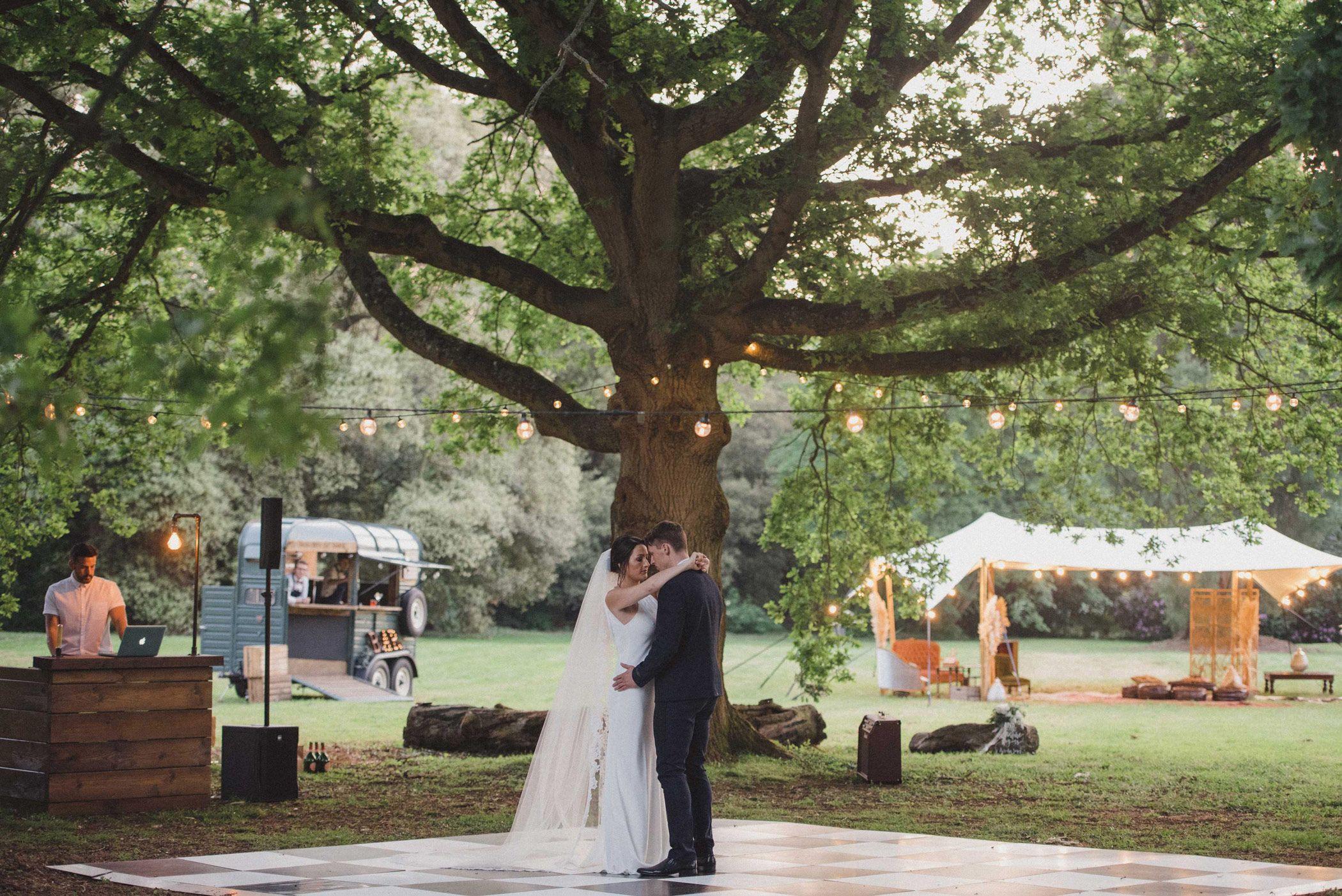 The Manor Gardens outdoor wedding venue