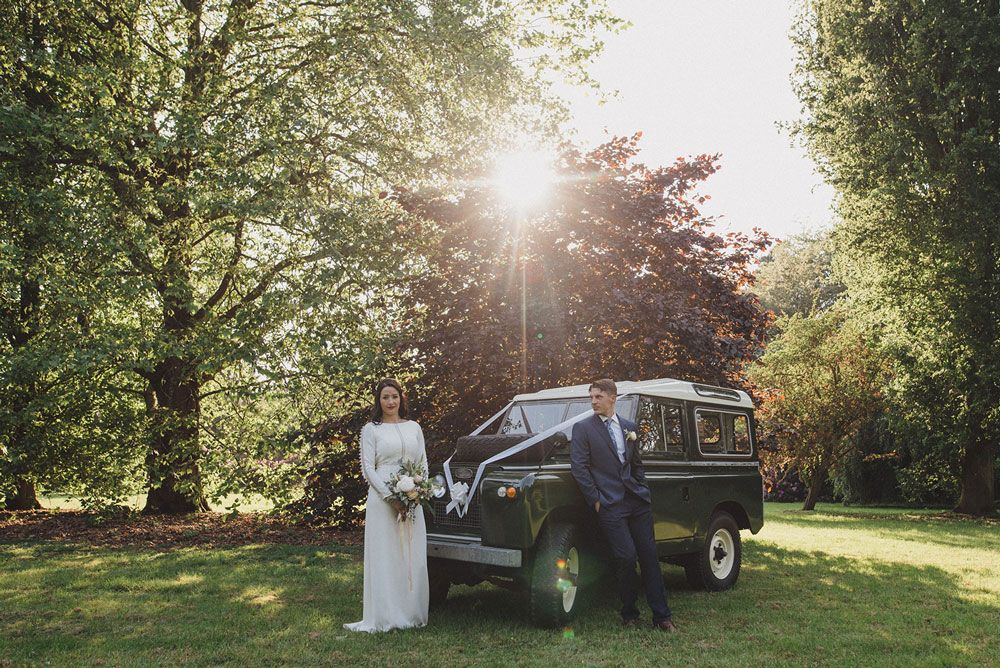 Love a wedding landy