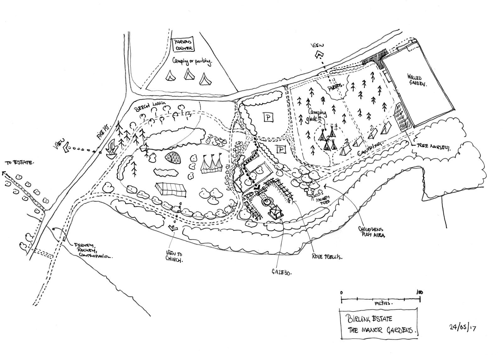 The Manor Gardens Layout