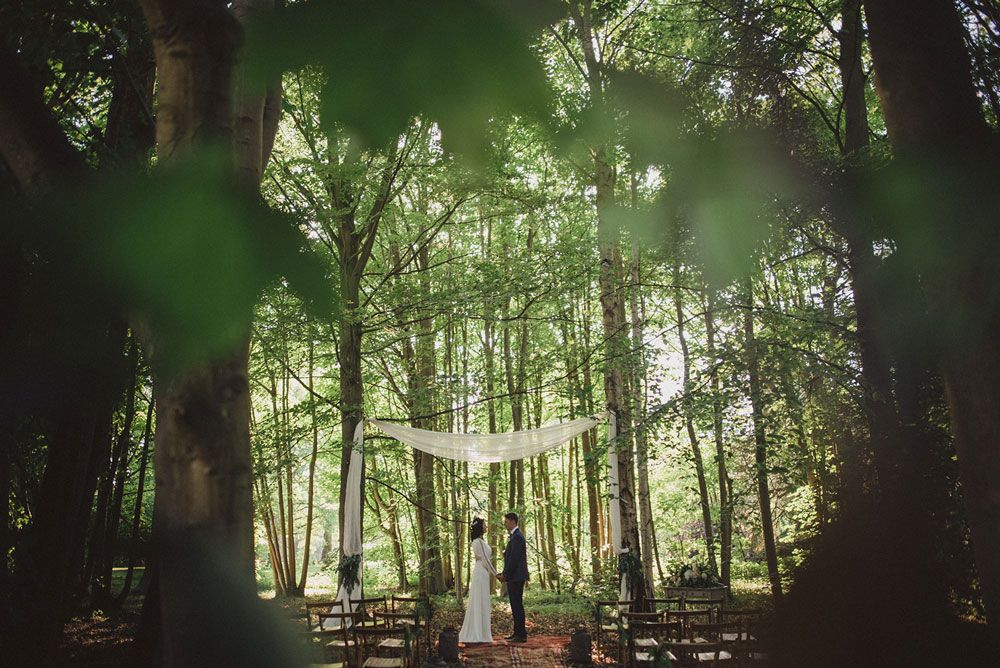 Woodland Wedding Kent